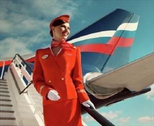 Vẻ đẹp hút hồn của các tiếp viên hãng hàng không Nga