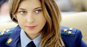 """Nữ công tố Crimea xinh đẹp tiết lộ về thu nhập: """"Quá tuyệt vời!"""""""
