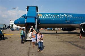 Khách thương gia được dùng wifi trên máy bay VNA