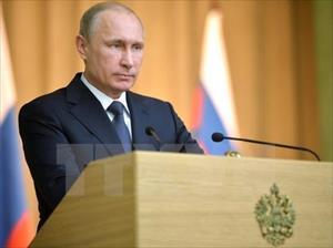 """Tổng thống Nga """"không hối tiếc"""" về việc sáp nhập Crimea"""