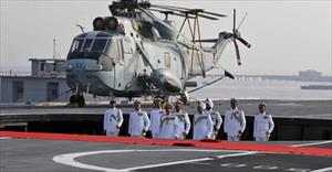 Ấn Độ tập trận trên biển chống Trung Quốc