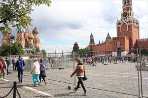 Hình ảnh Moscow nắng đẹp hiếm hoi trước thềm World Cup 2018