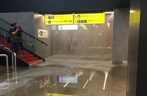 Sự cố hy hữu tại khu vực Terminal B sân bay Sheremetyevo