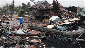 Nhật Bản quằn quại trong siêu bão Hagibis