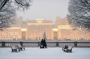 Moskva ấm áp bất thường