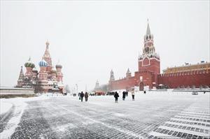 Moskva: Mùa đông sớm nhất trong vòng 137 năm
