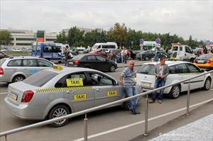 Moskva: Sẽ có quy định mới dành cho xe taxi đón khách ở sân bay Domodedovo?