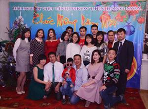 Hội người Việt tại tỉnh Pskov chúc mừng năm mới 2019
