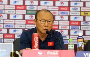 """HLV Park: """"Tôi biết điểm yếu của Thái Lan và thấy sự quyết tâm trong mắt học trò"""""""