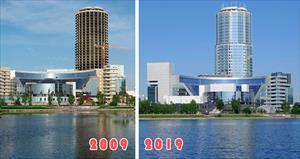 Những thay đổi của nước Nga trong thập kỷ qua