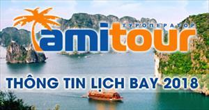 Amitour.ru: Thông tin lịch bay 2018