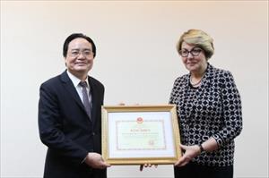 Thúc đẩy hợp tác GD Việt - Nga xứng tầm thành quả trong quá khứ