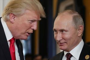 """Tổng thống Putin """"ca ngợi"""" ông Trump vì rút quân khỏi Syria"""