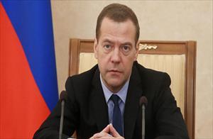 Thủ tướng Medvedev: Loại Nga khỏi hệ thống thanh toán SWIFT là hành động tuyên chiến