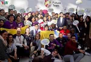 Sinh viên Việt Nam dự Diễn đàn Tình nguyện viên Quốc tế 2019 tại Nga