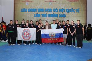 Tinh võ đạo Liên bang Nga kết thúc tốt đẹp chuyến đi tham dự liên hoan Võ cổ truyền lần thứ 7 tại Bình Định