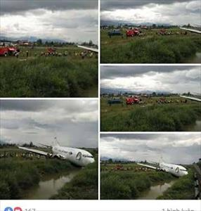 Đề nghị điều tra hoang tin máy bay rơi ở Nội Bài