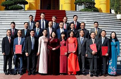 18 tân Đại sứ đặc mệnh vừa được bổ nhiệm gồm những ai?