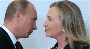 Bà Hillary Clinton lấy ngẫu hứng Putin để tranh cử Tổng thống Mỹ