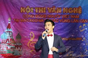 Hội thi văn nghệ Cộng đồng người Việt tại khu vực Moskva năm 2018