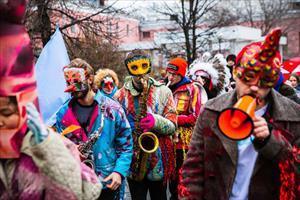 Lễ hội hóa trang nhiệt đới ngập tràn âm nhạc tại Moskva