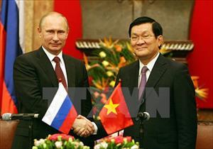 Lãnh đạo Việt- Nga gửi thư chúc mừng kỷ niệm 65 quan hệ ngoại giao