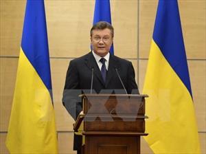 Ukraine tịch thu tài sản chính quyền cựu Tổng thống Yanukovych