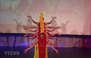 """Bế mạc """"Tuần lễ Văn hóa Việt Nam"""" tại trường Đại học Hữu nghị Nga"""
