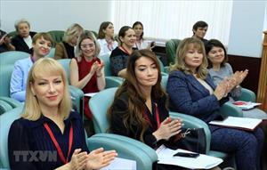 Phụ nữ Việt-Nga chung tay khẳng định vị thế và tiếng nói trong xã hội