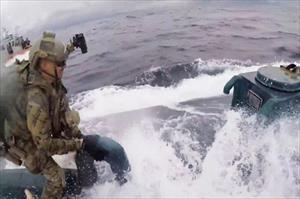 Tuần duyên Mỹ truy bắt tàu ngầm chở gần 8 tấn cocaine