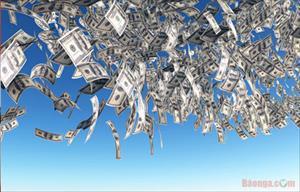 Nga: Tỷ giá USD xuống 57 rúp/ USD