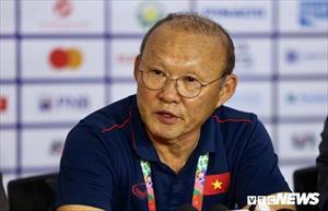 U22 Việt Nam thắng vất vả Singapore, HLV Park Hang Seo: