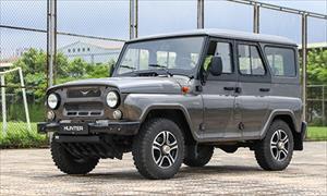 UAZ Hunter - xe offroad Nga giá 400 triệu