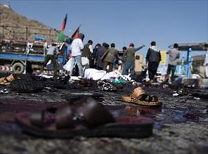 Khủng bố đẫm máu ở Kabul, ít nhất 80 người thiệt mạng
