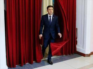 Ứng viên Zelensky nêu quan điểm xây dựng quan hệ với Nga và châu Âu