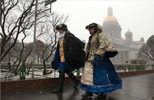 St. Petersburg đang trải qua tháng 4 lạnh nhất trong vòng gần nửa thế kỷ