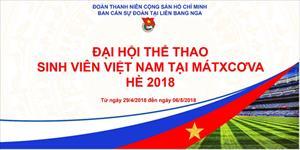 """Kế hoạch tổ chức """"Đại hội thể thao sinh viên Việt Nam tại Mátxcơva Hè 2018"""""""