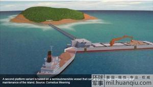 Trung Quốc lộ kế hoạch thâm độc xây đảo ở Trường Sa