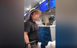 Nữ Đại úy công an chửi bới ở sân bay bị khai trừ Đảng