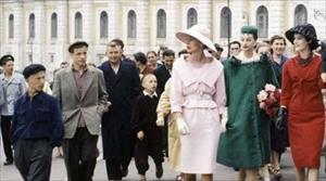 Nhìn lại những bộ thời trang cách đây 60 năm ở Nga