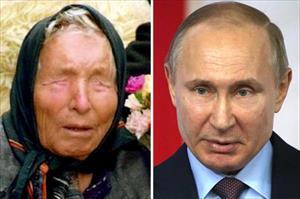 Bầu cử Nga: Nhà tiên tri Vanga tiên đoán bất ngờ về Putin, nước Nga
