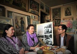 Nhà giáo Nga nhiều duyên nợ với nền mỹ thuật Việt Nam
