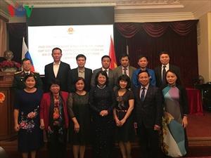 Phó CTN Đặng Thị Ngọc Thịnh gặp gỡ cộng đồng người Việt tại Nga