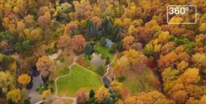 Vườn Nhật Bản ở Mátxcơva trong sắc thu rực rỡ màu vàng đỏ