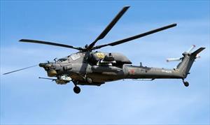 Nga: Rơi máy bay trực thăng Mi-28 ở Krasnodar, 2 phi công tử vong