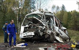 Nga: Tai nạn giao thông nghiêm trọng làm bảy người chết