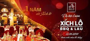Dạ tiệc kỷ niệm tròn 1 năm nhà hàng Xích Lô BBQ&LẨU