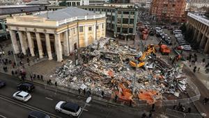 Moskva: Tháo dỡ nhiều cửa hàng được xây dựng trái phép