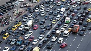 Moskva: Ùn tắc giao thông tăng mạnh trong tuần này
