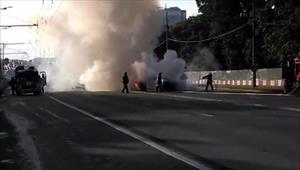 Moskva: Cảnh sát tìm kiếm người tham gia vụ tai nạn nghiêm trọng